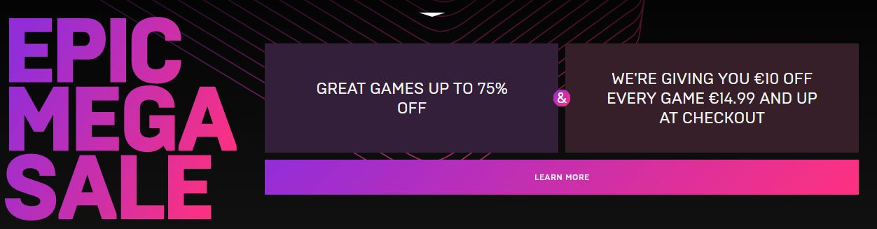 epic games sale