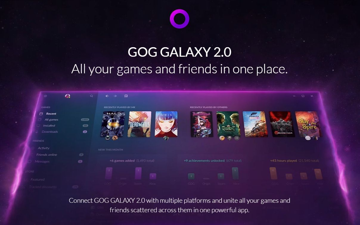 Photo of GOG Galaxy 2.0 va comercializa jocuri de pe Epic Games Store