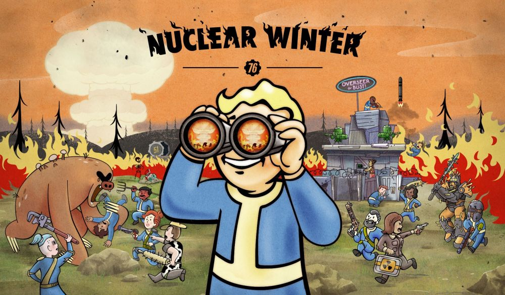 Fallout 76 Nuclear Winter battle royale