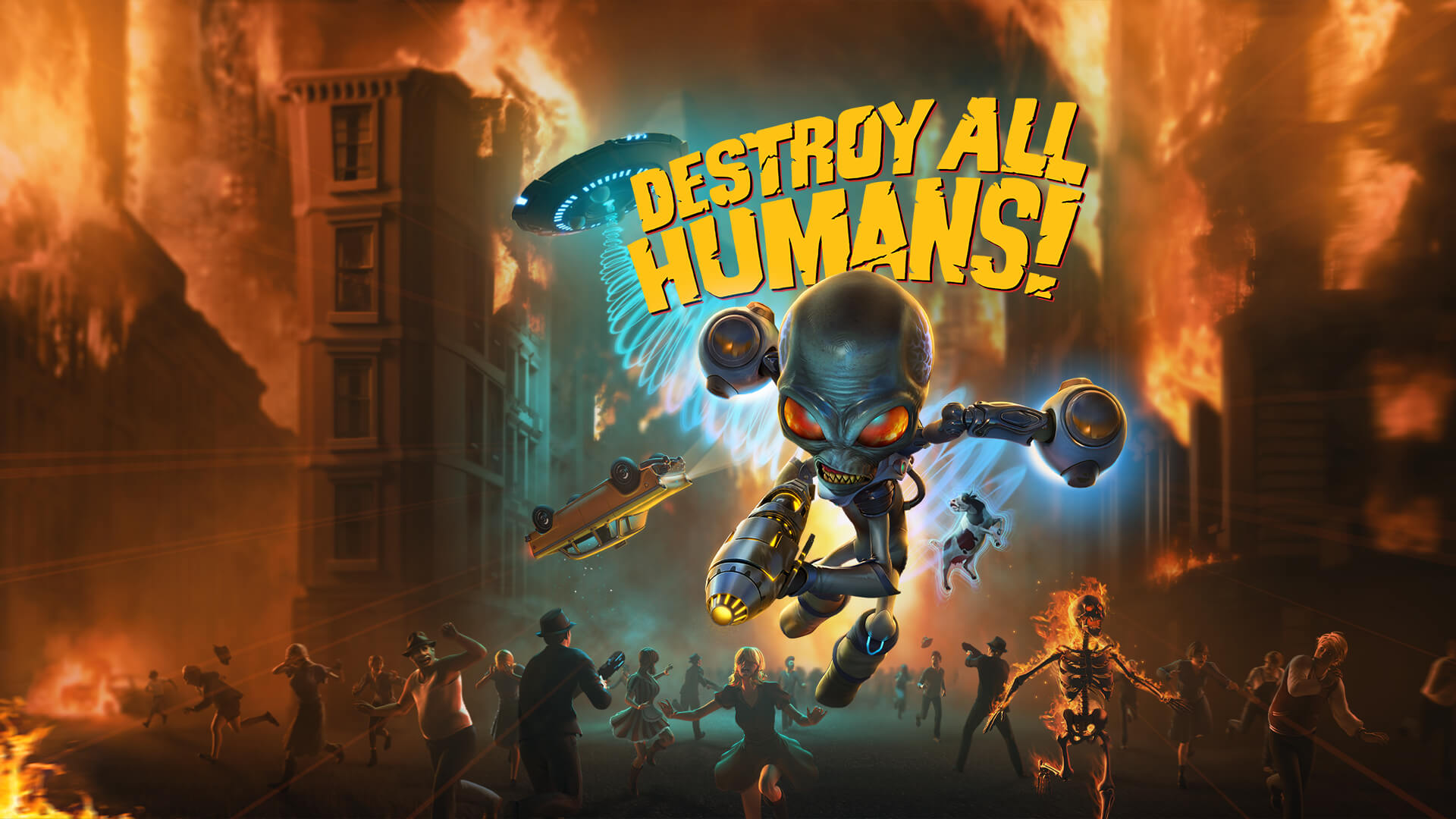 Photo of Destroy All Humans! la vară