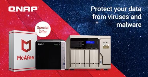 Photo of QNAP anunță o ofertă specială limitată pentru McAfee Antivirus – ediția pentru NAS