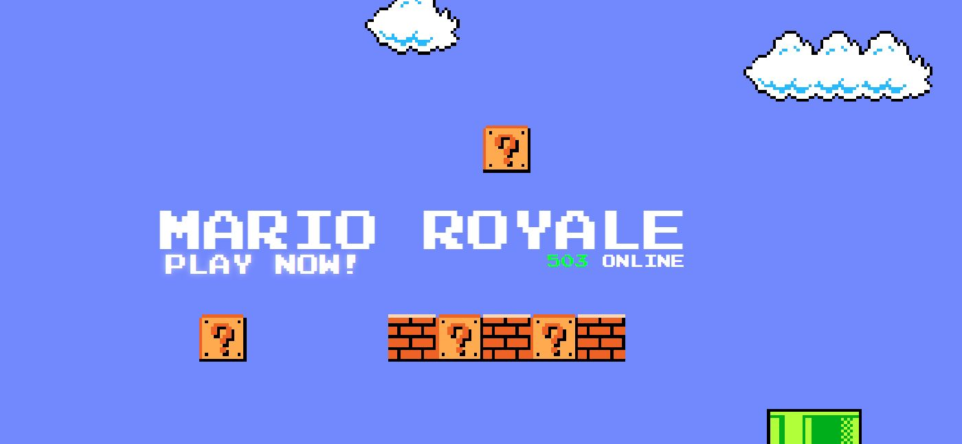 super mario bros royale