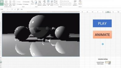 Photo of Cea mai noua aplicatie care suporta Ray Tracing este Microsoft Excel