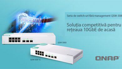 Photo of QNAP a lansat switch-urile QSW-308-1C și QSW-308S