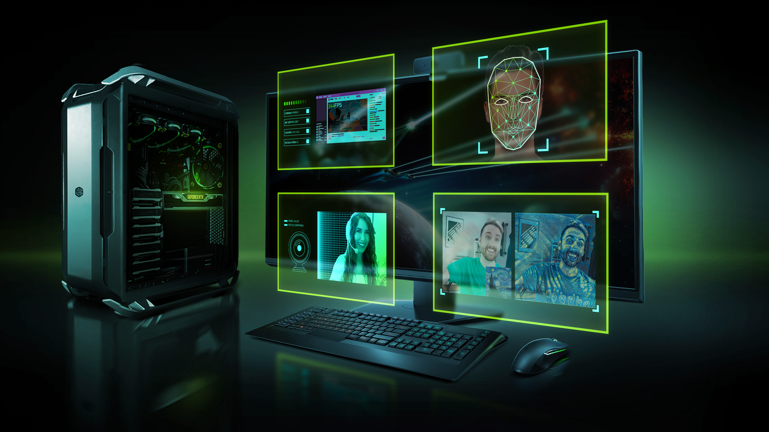 NVIDIA Broadcast Feature