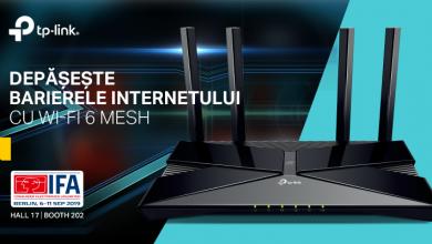 Photo of TP-Link lanseaza la IFA 2019 noi produse din gama Whole Home si completeaza seria cu Wi-Fi 6