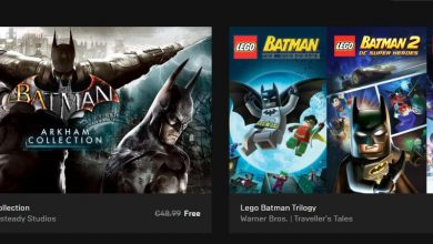 Photo of Multe jocuri Batman gratuite acum pe Epic Games Store