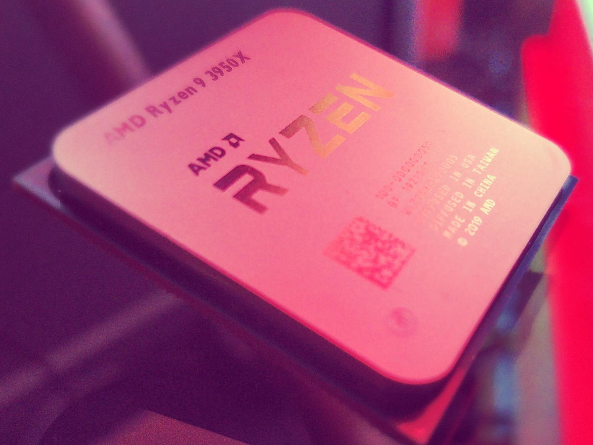AMD Ryzen 9 3950X, Apple?