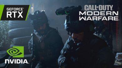 call of duty modern warfare nvidia feature