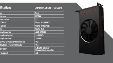 Photo of Radeon RX 5500 se arată la față