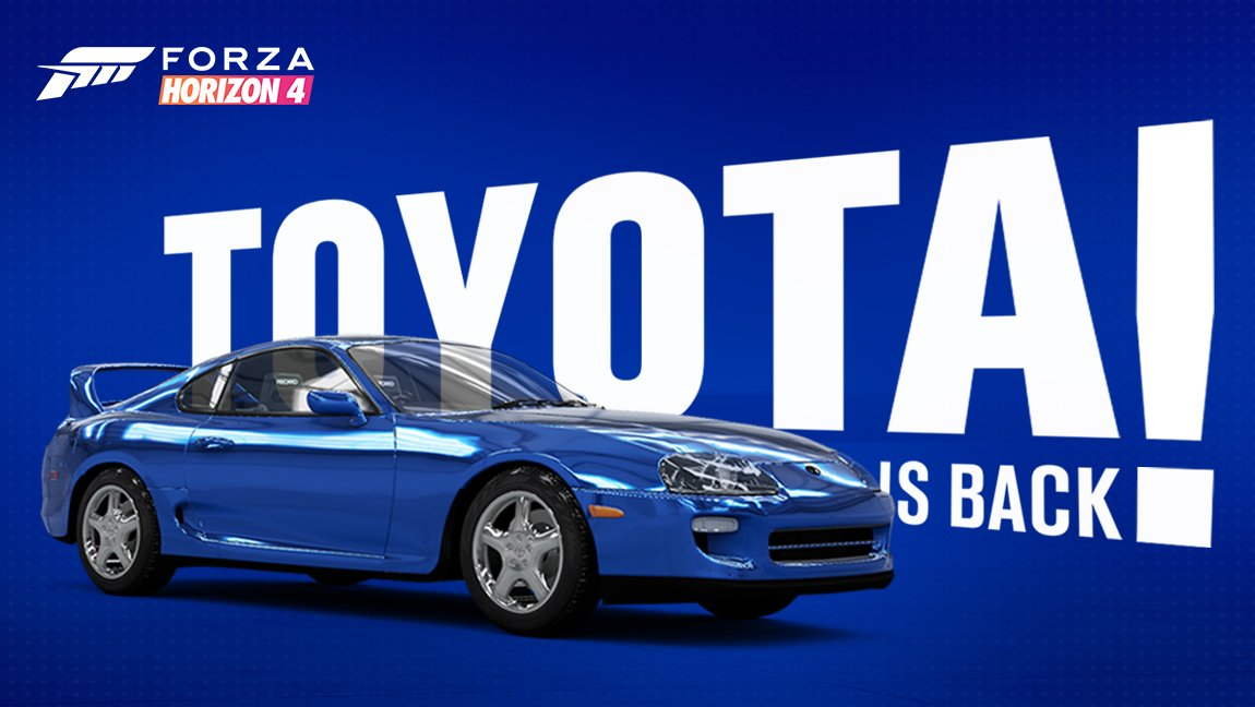 Toyota Supra Forza Horizon 4 Returns