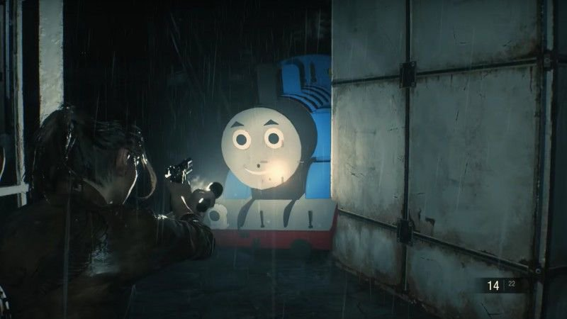 Resident Evil Thomas