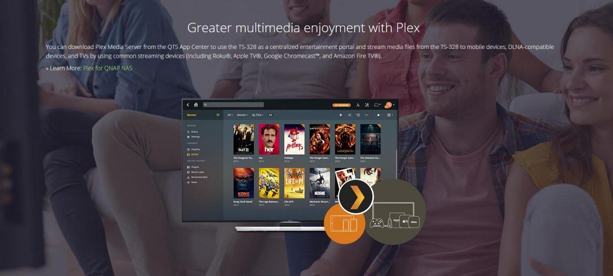Qnap Plex Integration