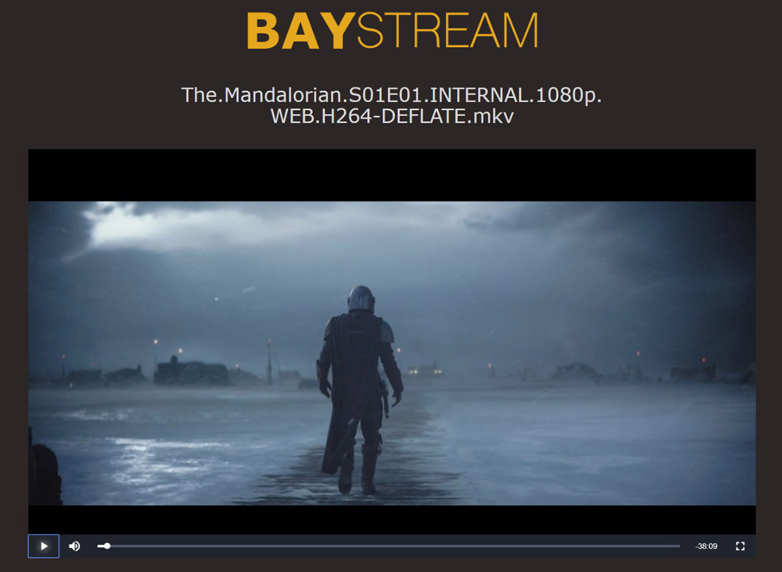 The Pirate Bay BayStream