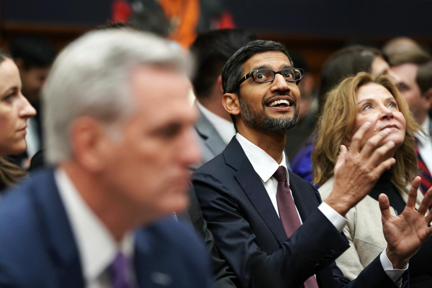 Sundar Pichai, CEO Alphabet