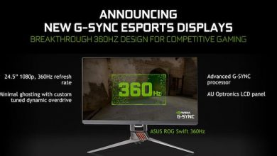 Photo of CES 2020: Nvidia și Asus anunță un monitor de 360Hz