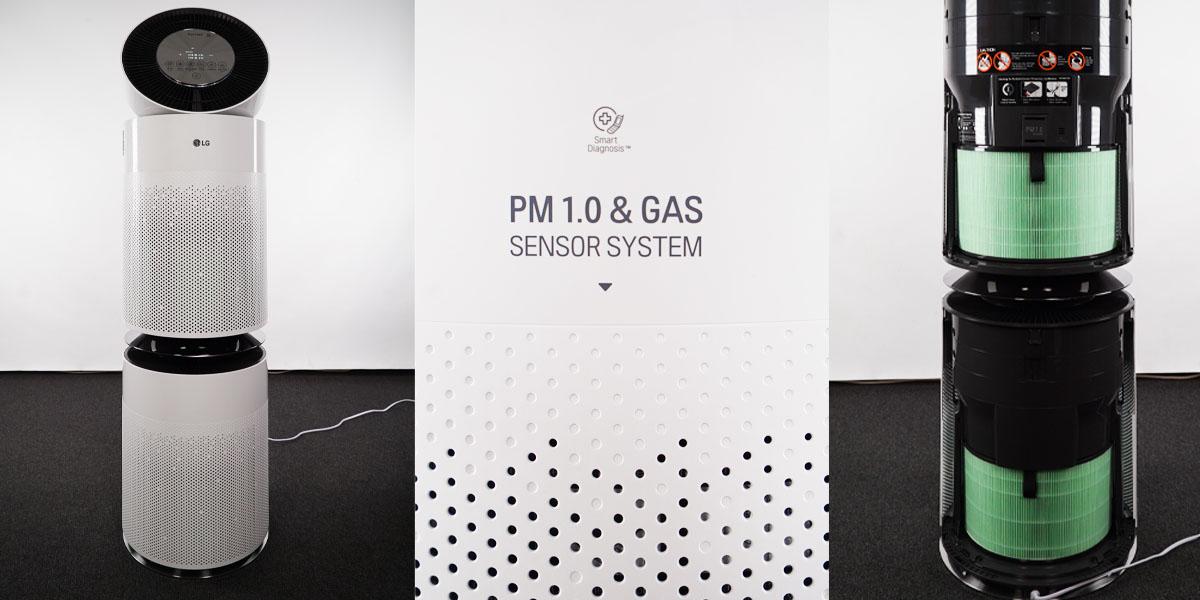 LG Puricare Dimensiuni si Filtre