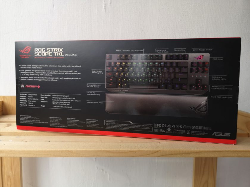 Review ROG Strix Scope TKL Deluxe