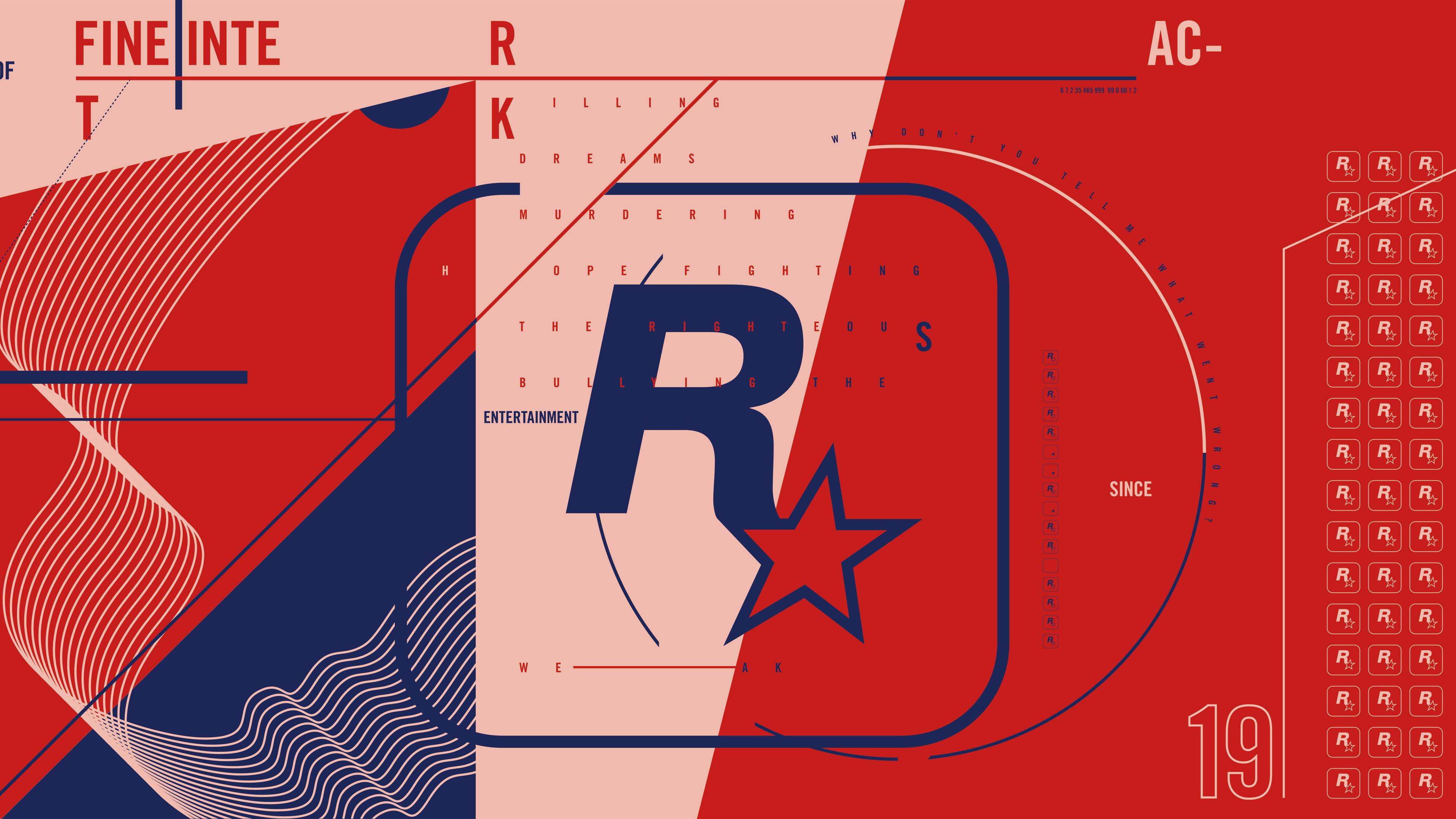 Rockstar Games New Logo 2020