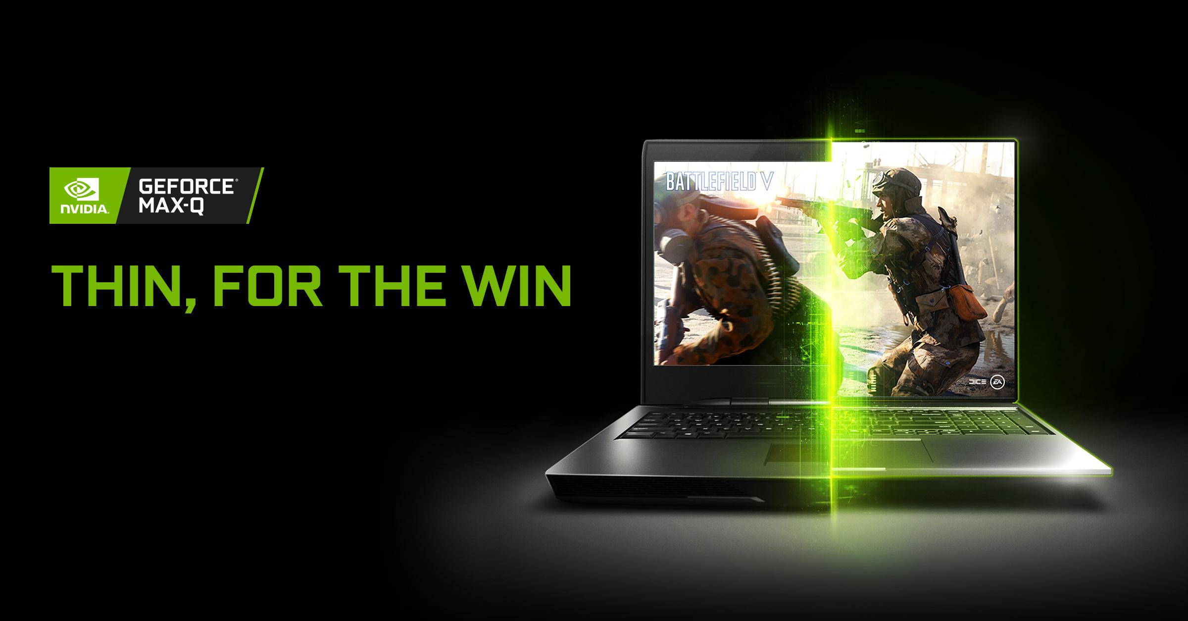 Nvidia Gaming Max-Q Feature