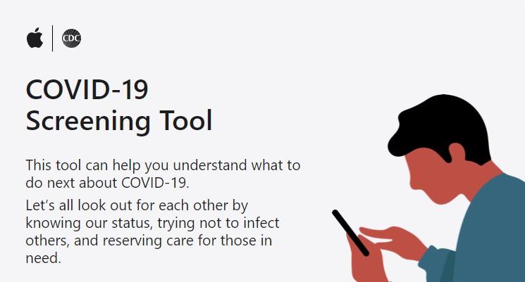 Apple COVID-19 Coronavirus App