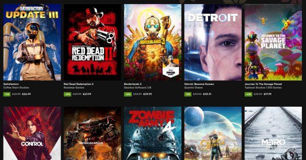 Epic Games Store gazduieste Spring Sale cu o multime de reduceri