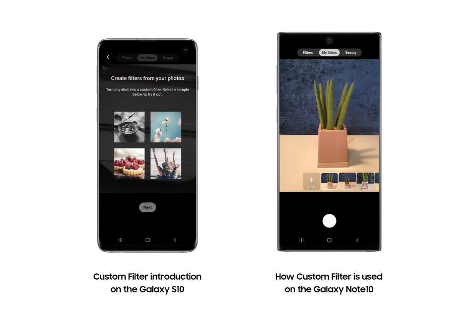 Galaxy S10 Custom Filters