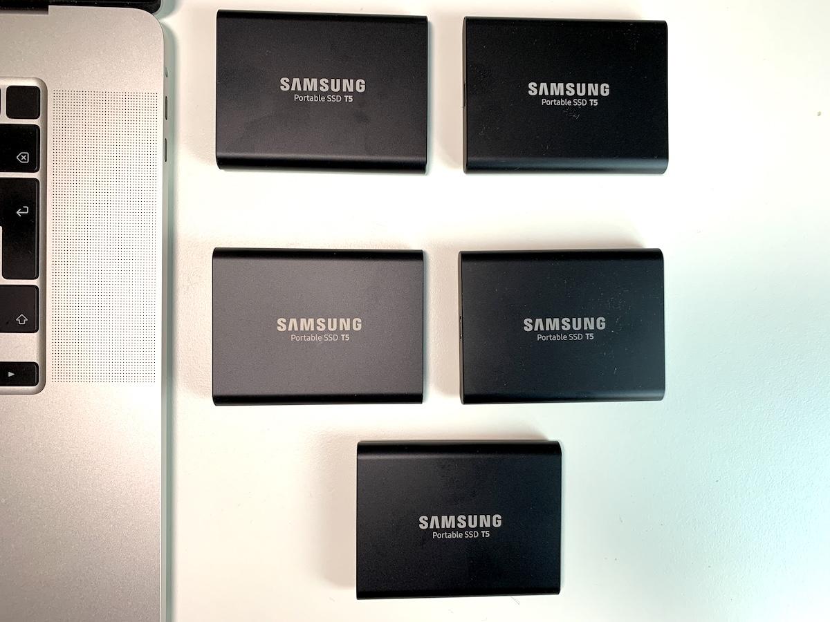 SSD extern Samsung T5 1TB