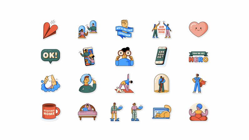 WhatsApp COVID-19 Emoji