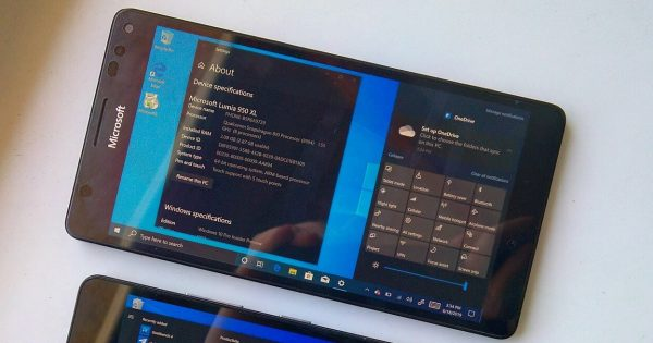 Windows 10 ARM poate rula si pe telefoane Android