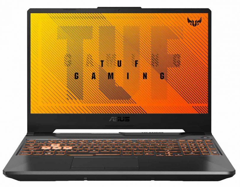 ASUS TUF A15 F506: ecran IPS, 60/120/144Hz, 200-250cd/m2, margini subțiri pe 3 laturi