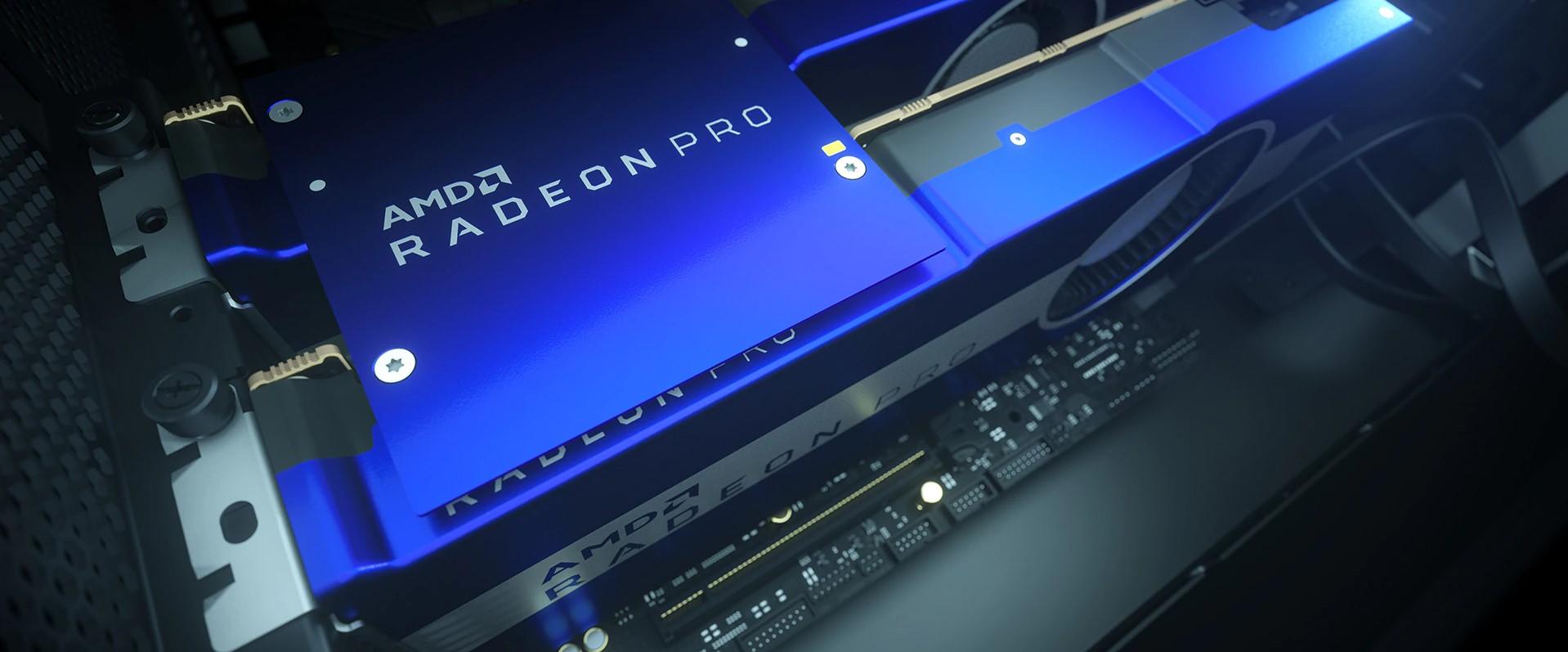 AMD Radeon Pro VII Lansare