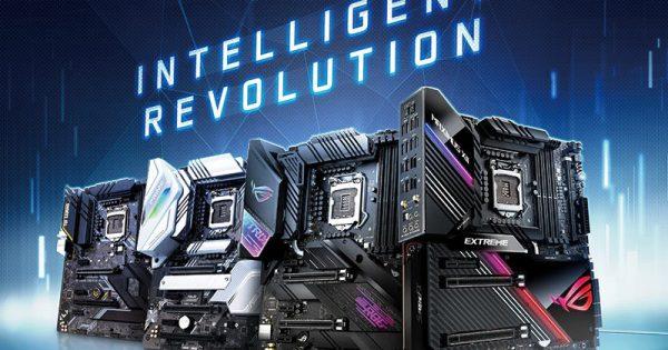 ASUS lanseaza o gama intreaga de placi de baza cu noul chipset Z490