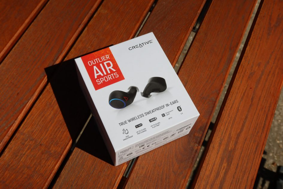 Review Creative Outlier AIR Sports