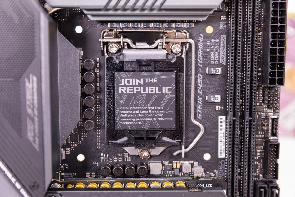 ROG Strix Z490-I Gaming Overview
