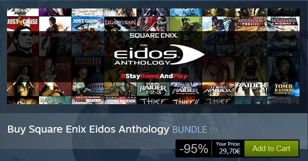 Square Enix Eidos Anthology Pack