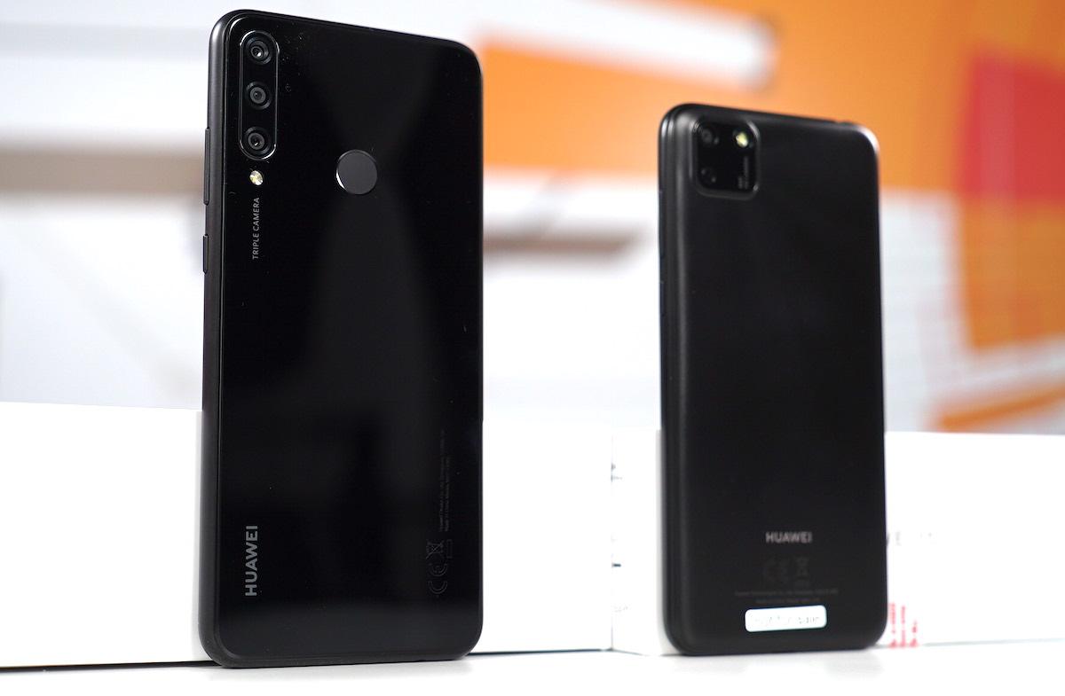 Telefoane Huawei Y6p si Y5p
