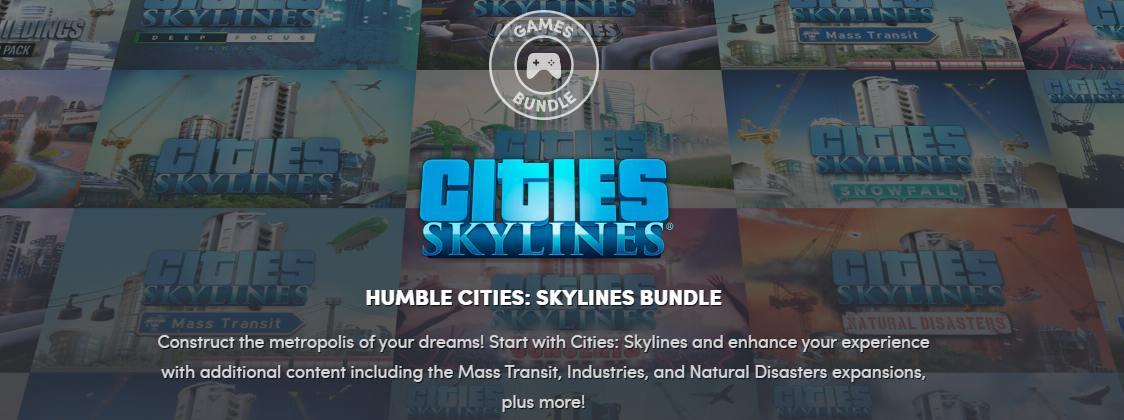 cities skylines bundle