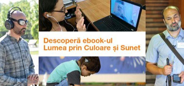 """Fundația Orange lansează primul e-book """"Lumea prin Culoare și Sunet"""""""