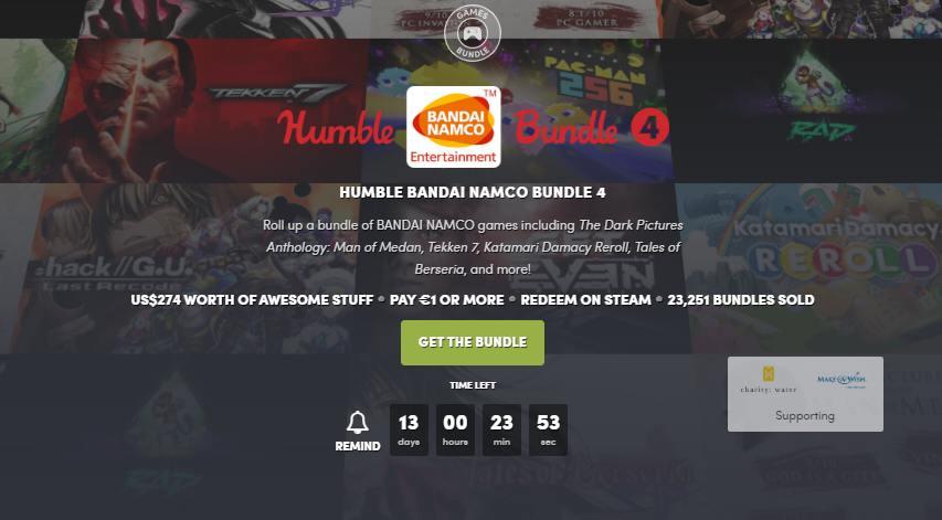 humble namco bundle
