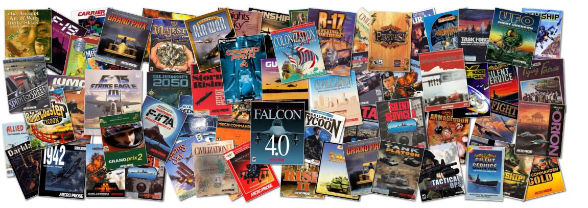 microprose games