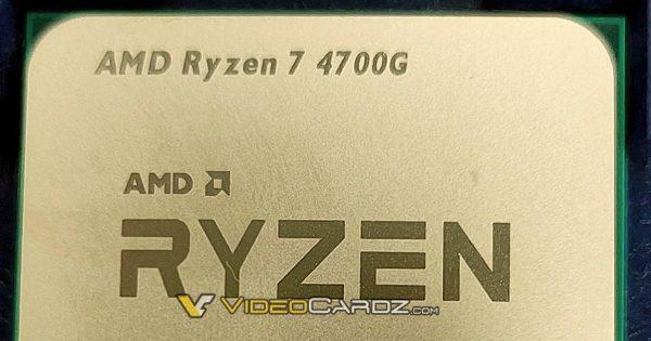 Detalii despre Ryzen 7 4700G