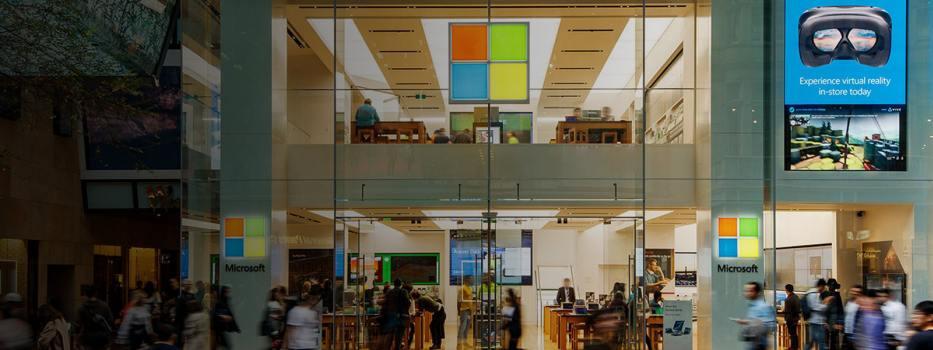 Microsoft Store fizic
