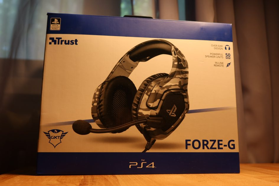 REVIEW TRUST GXT 488 FORZE PS4