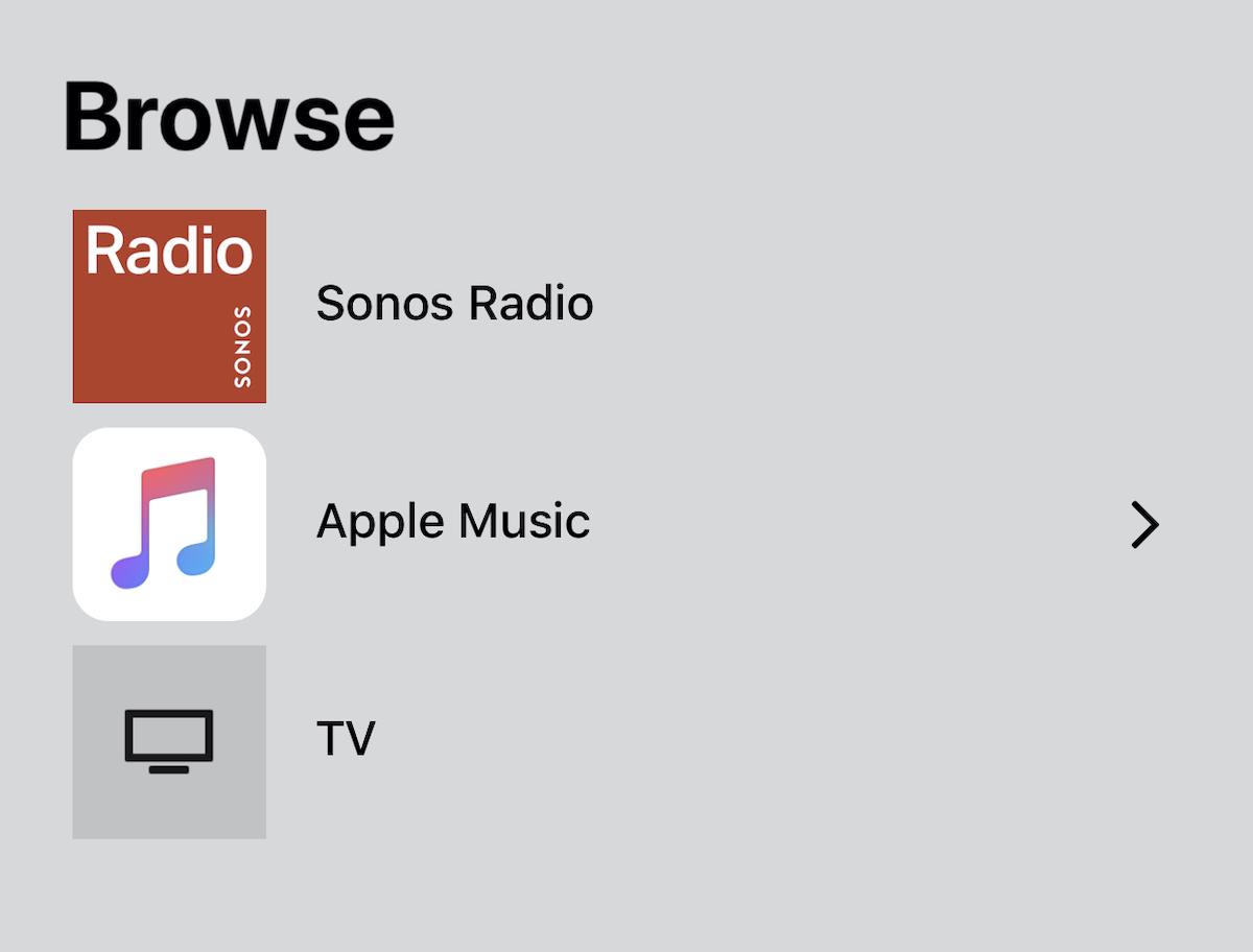 Sonos Arc Soundbar App