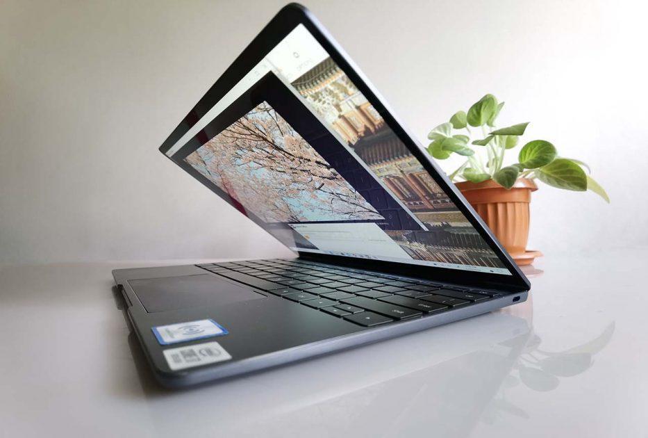 HUAWEI MateBook 13 2020 - tot un port TypeC și pe dreapta