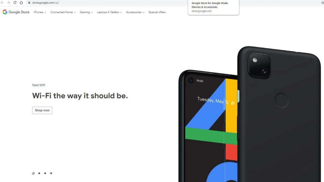Google Pixel 4a Store