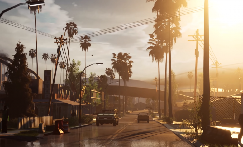 Grand Theft Auto San Andreas x Unreal Engine