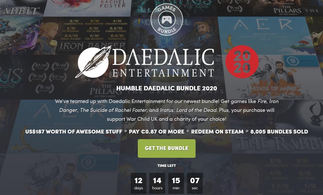 Humble Daedalic Bundle