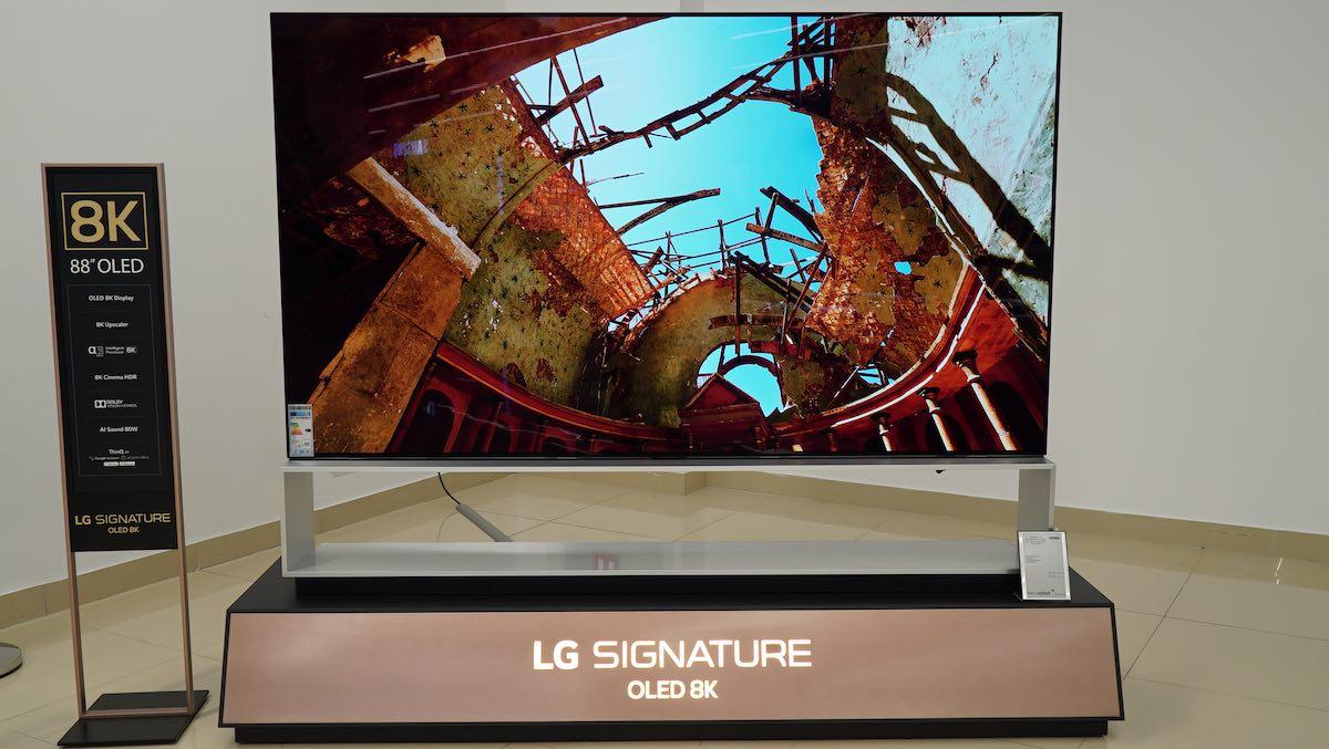 LG 88 ZX 8K OLED Image